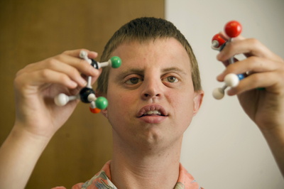 "Henry ""Hoby"" Wedler, a graduate student in chemistry"
