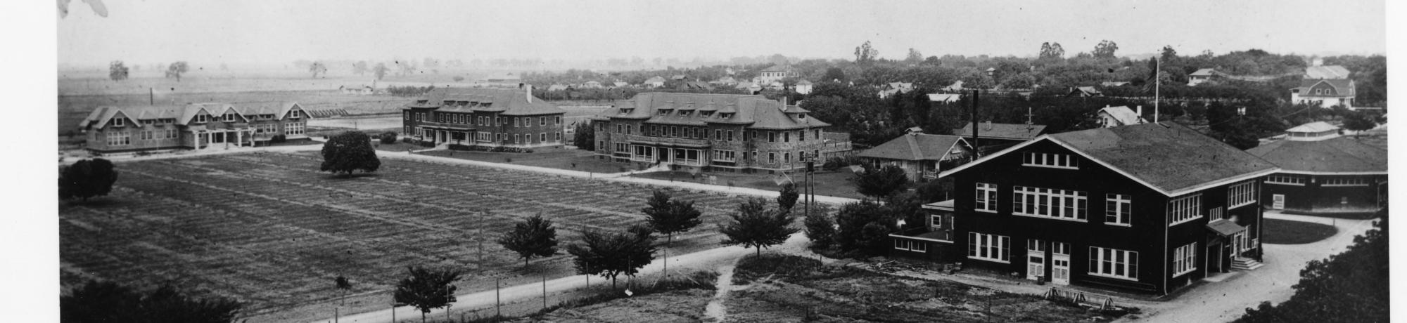 University farm dorms and office, 1912